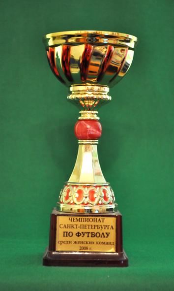 3 место Чемпионат Санкт-Петербурга по футболу среди женских команд