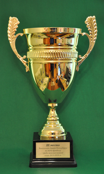 3 место Чемпионат Санкт-Петербурга по мини-футболу среди женских команд