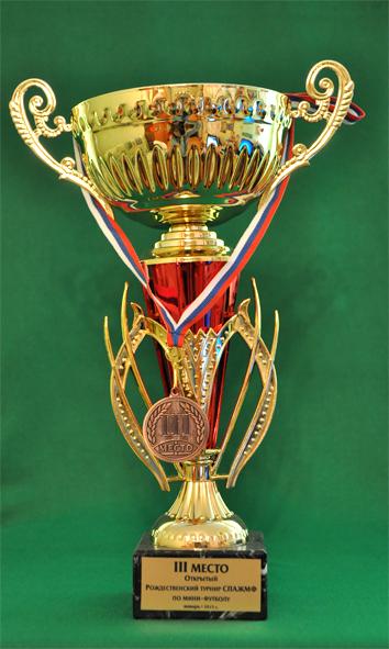 3 место Рождественский турнир СПАЖМФ по мини-футболу среди женских команд