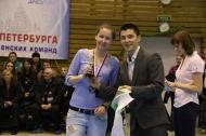 Чемпионат Санкт-Петербурга по мини-футболу среди женских команд сезрна 2014-2015 г.